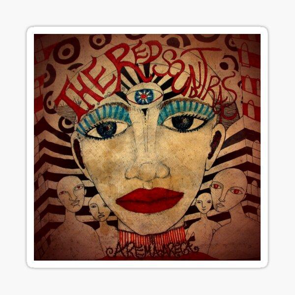 The Red Soundtracks Sticker