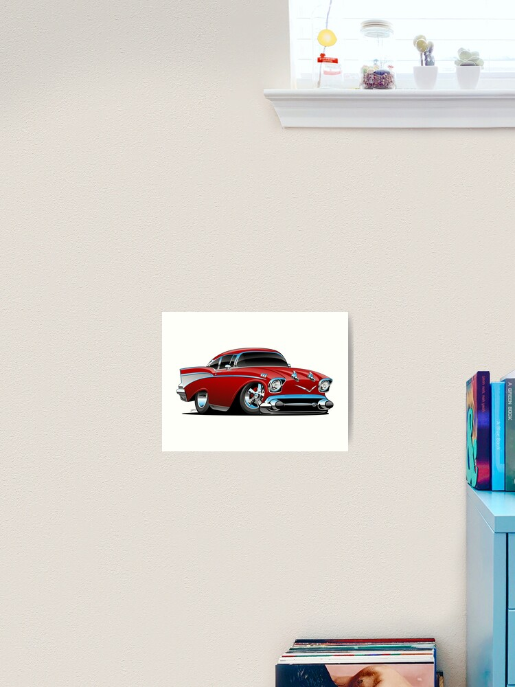 """REDUCED Ford Mustang Racers 24/""""x18/"""""""