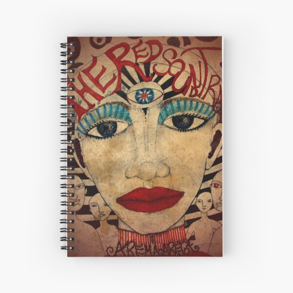 The Red Soundtracks Spiral Notebook