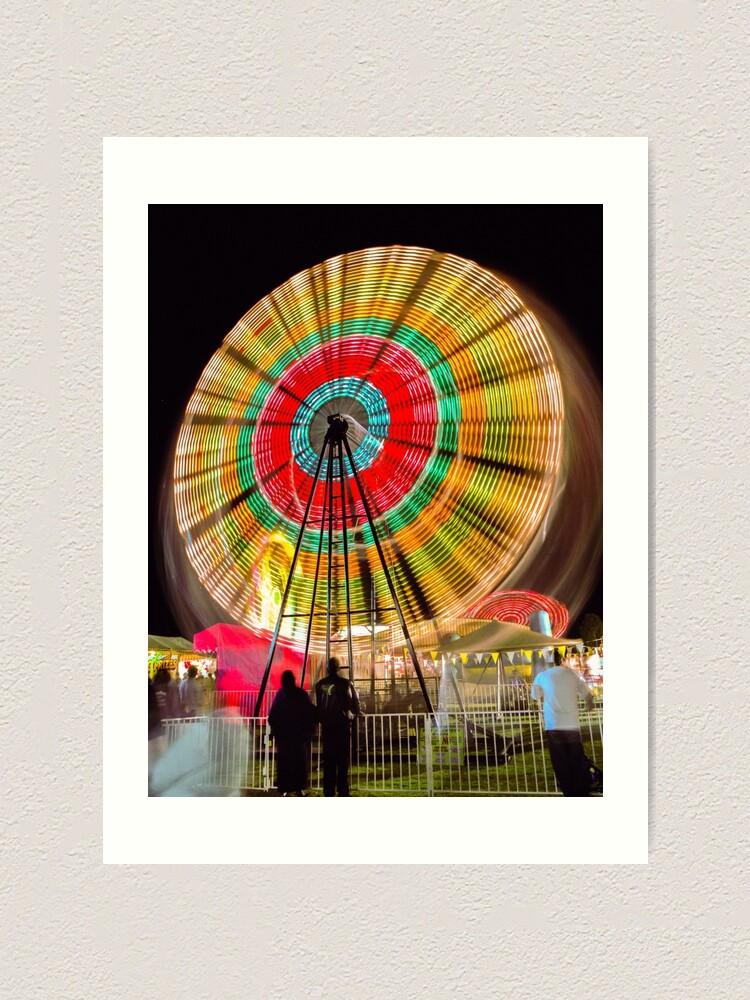 Alternate view of The Big Wheel Art Print