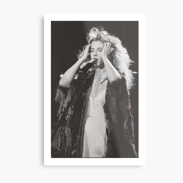 Stevie Nicks Metal Print
