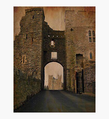 Swords Castle gate Photographic Print