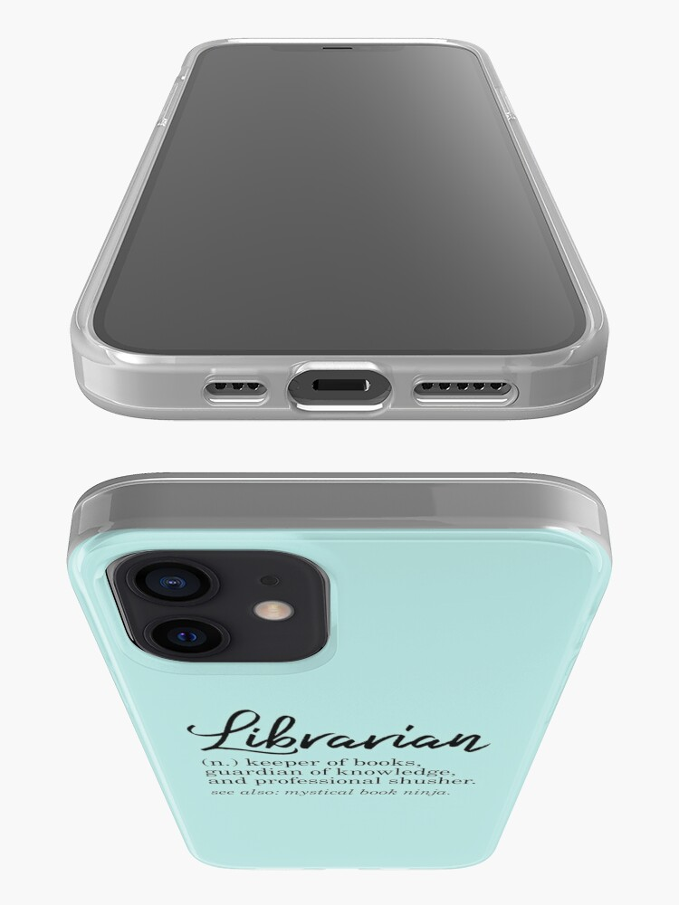 Alternate view of Librarian Funny Definition iPhone Case & Cover