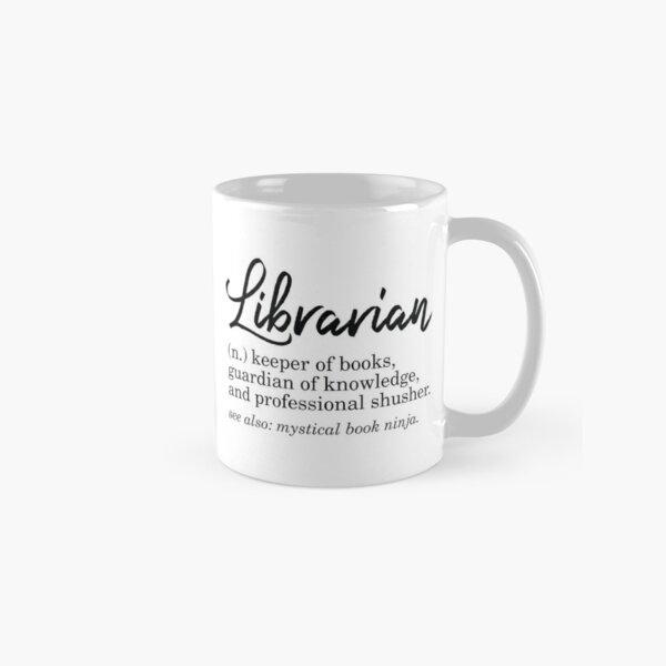 Librarian Funny Definition Classic Mug