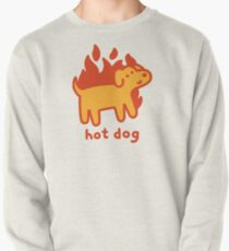 Hot Dog Pullover Sweatshirt