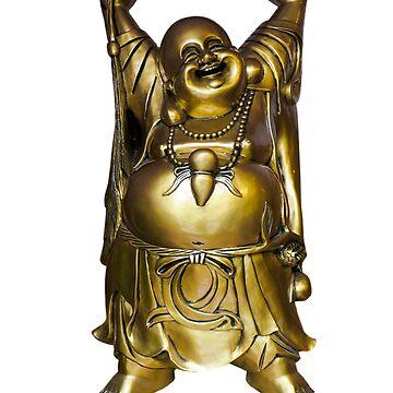 The golden laughing buddha,good Feng Shui,buddhism,spiritual by love999