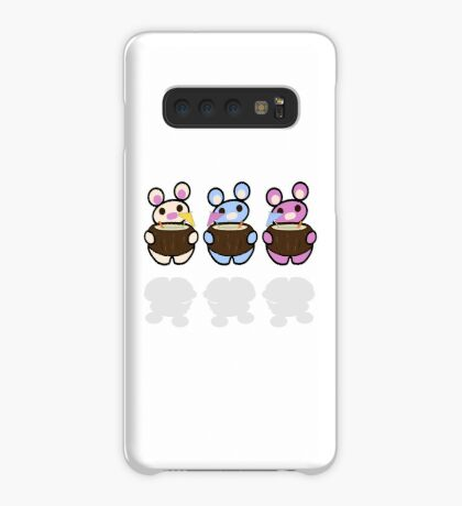 STPC: Three Chibis (Coconuts) Case/Skin for Samsung Galaxy