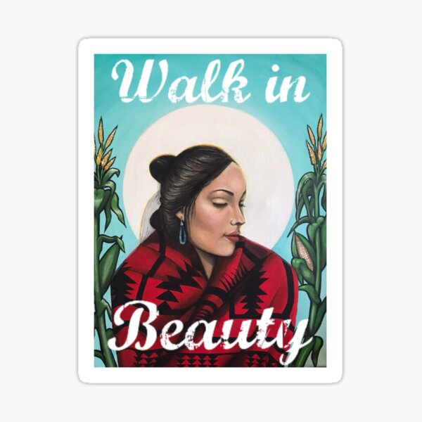 Walk in Beauty Sticker