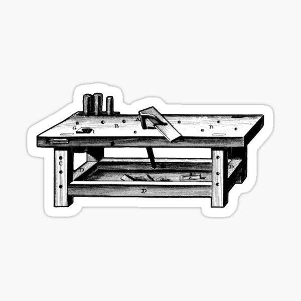 Joinery Workbench Sticker
