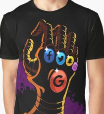 Comic Hands - Infinity Graphic T-Shirt