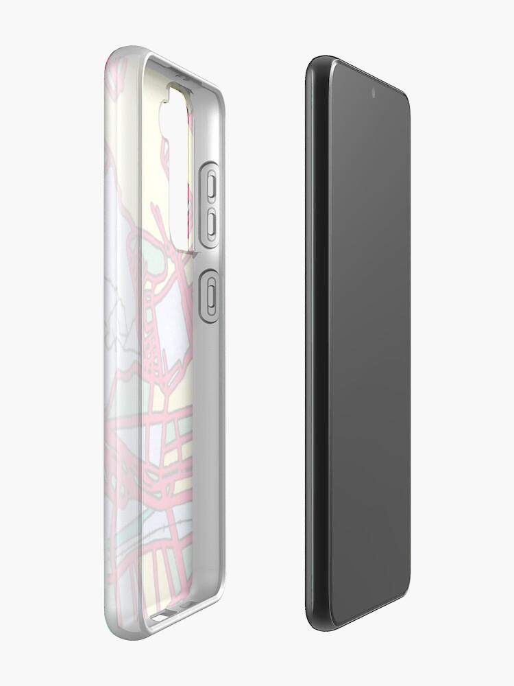 Alternate view of Lima, Peru Case & Skin for Samsung Galaxy
