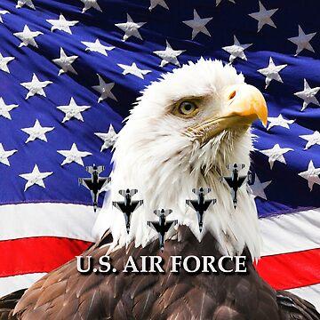 United States Air Force by EdmondHoggeJr