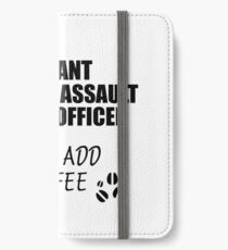 Armored Assault Vehicle Officer Instant Just Add Coffee Funny Gift Idea for Coworker Present Workplace Joke Office iPhone Wallet/Case/Skin