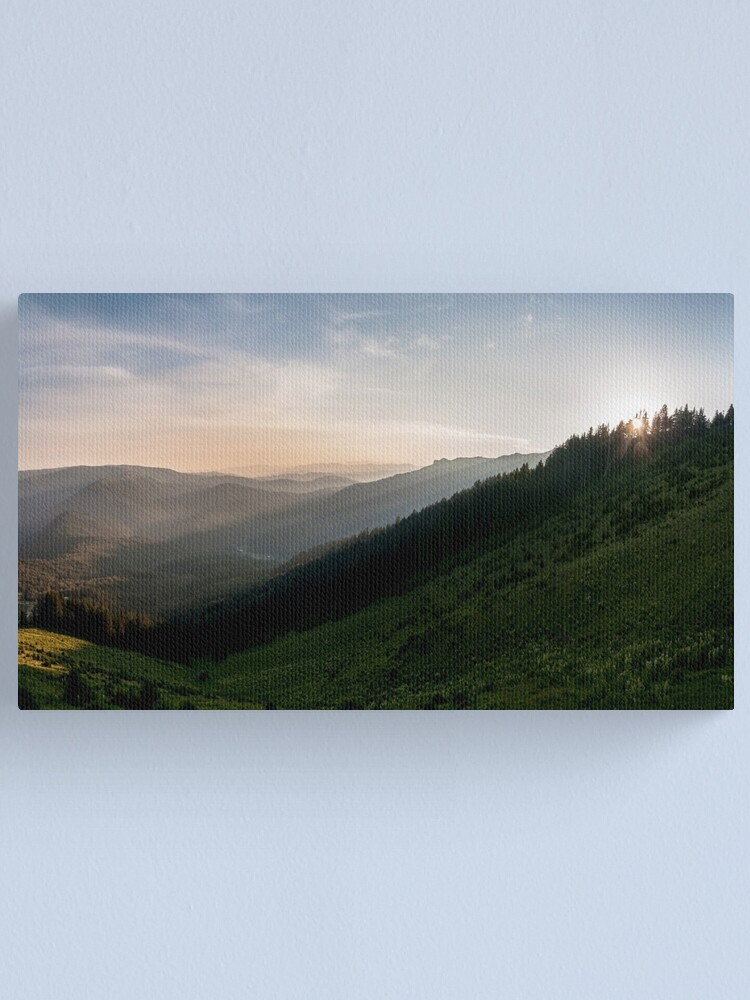 Alternate view of Warm Canvas Print