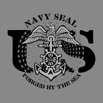 US NAVY SEAL - FORGED BY THE SEA by GR8DZINE