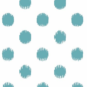 Teal,big,polka dots,pattern,trendy,modern,girly,cute,fun by love999