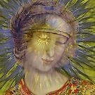 St. Ann, da Vinci goes Digital by Janet Boyd Art