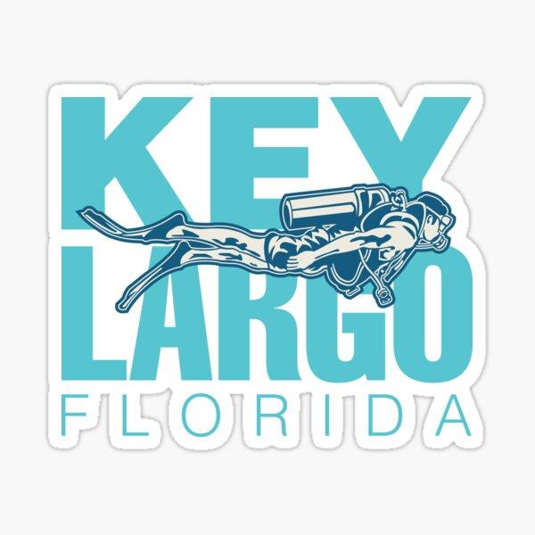 Key Largo Florida Scuba Diving Sticker