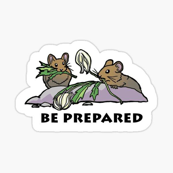Pika Be Prepared Sticker