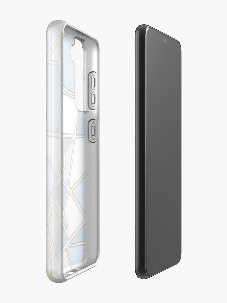 Alternate view of Montevideo, Uruguay Case & Skin for Samsung Galaxy
