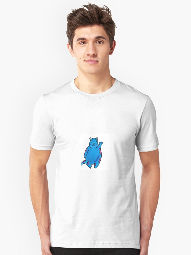 goodbye sully from monsters inc unisex t shirt by aphina redbubble