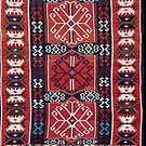 Kuba  Antique East Caucasus Kilim by Vicky Brago-Mitchell