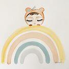 Rainbow bear by MarleyArt123