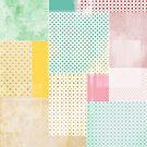 subtile geometrische Decke von chyworks