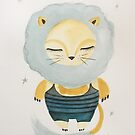 Cute and fierce  by MarleyArt123