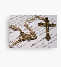 Rosary Canvas Print