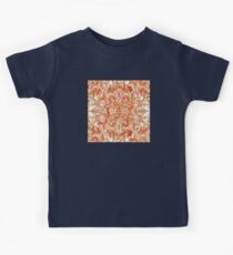 Art Nouveau Pattern in Pumpkin Spice Kids Clothes