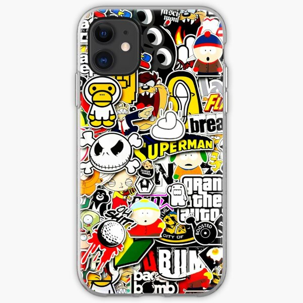 Bape Bomb Collage iPhone Soft Case