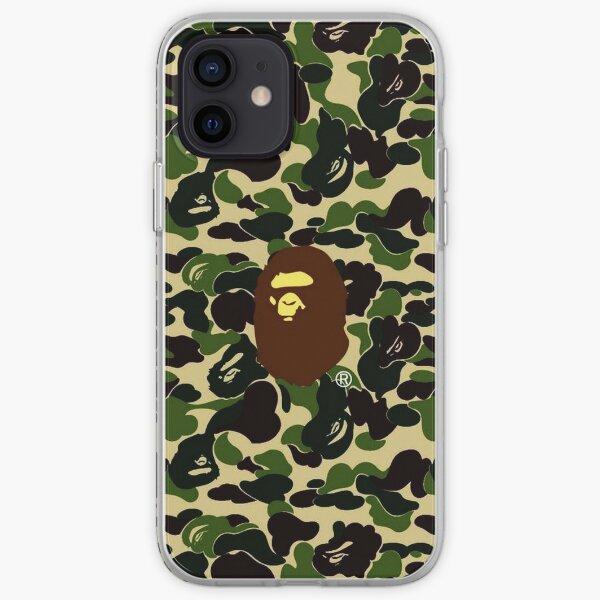 Bape Camo Army iPhone Soft Case