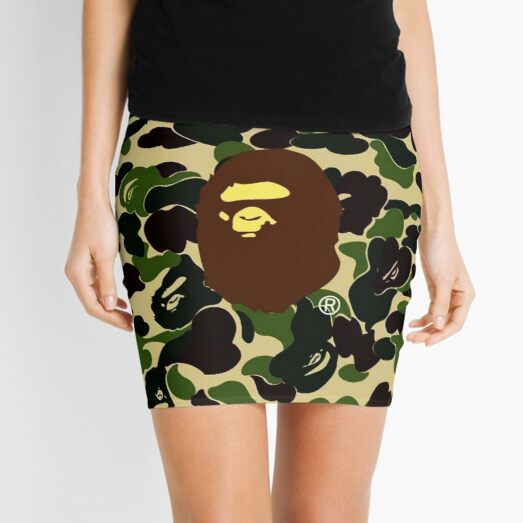 Bape Camo Army Mini Skirt