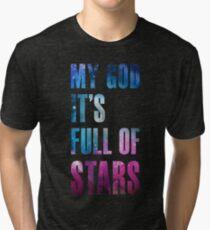 Mein Gott, es ist voller Sterne - Ausschnitt Version Vintage T-Shirt