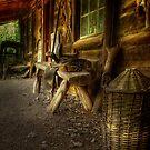 Kate's Cottage ~ Verandah by Rosalie Dale