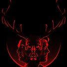 Blood Brothers - Hannibal & Will Graham by Magmata