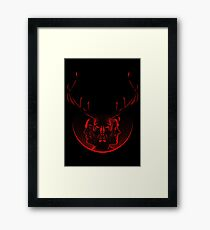 Blood Brothers - Hannibal & Will Graham Framed Print