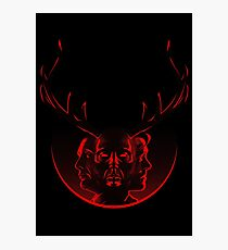 Blood Brothers - Hannibal & Will Graham Photographic Print