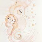 Sea horse love by MarleyArt123