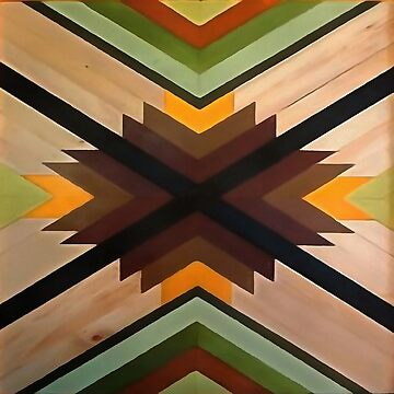 Geometric Wood Pattern by taiche