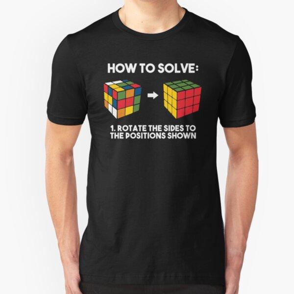 Rubiks Cube Slim Fit T-Shirt