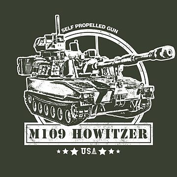 M109 Self Propelled Howitzer by RycoTokyo81