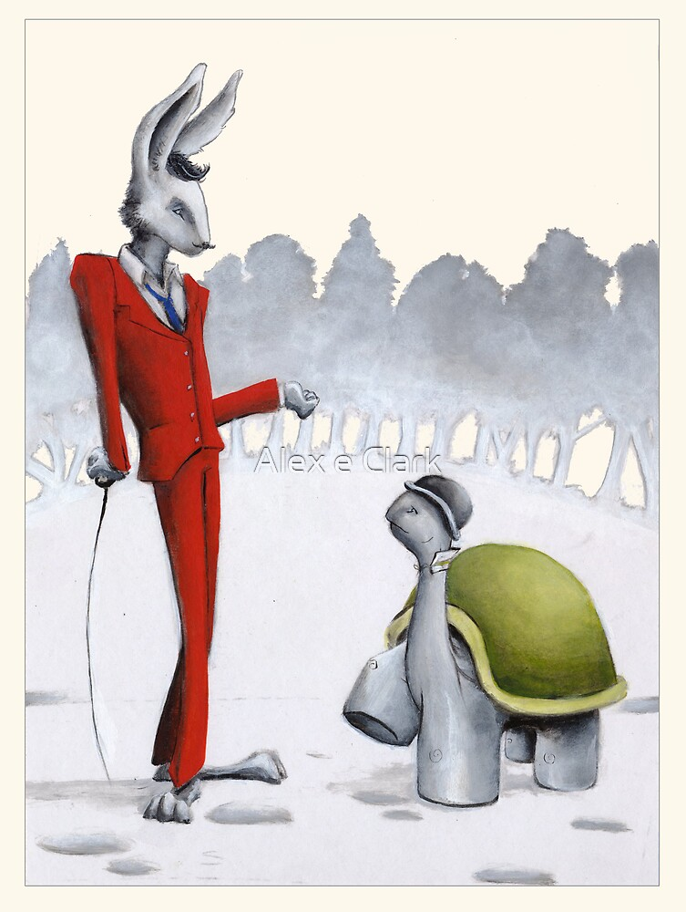 Aesop's Fables - The Hare and the Tortoise by Alex e Clark
