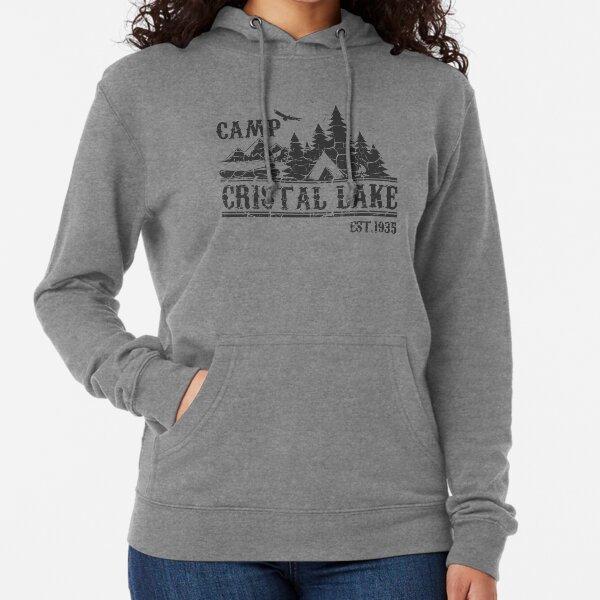 Camp Crystal Lake Hoodie  Camping Vintage Horror Halloween Hoodie Top