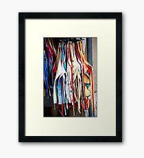 Apron Sale Framed Print