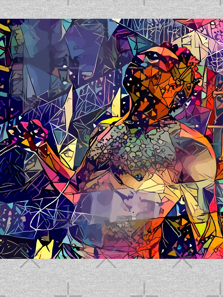Abstrakter Donald Glover von stilldan97