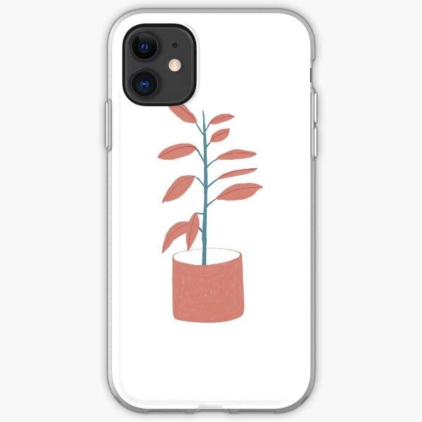 Ficus elastica iPhone Soft Case
