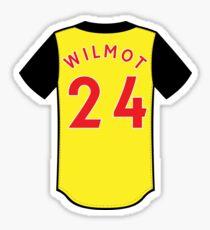 Ben Wilmot Jersey Sticker