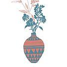 My Love – flowers in a vase by Caroline Wilkie Studio